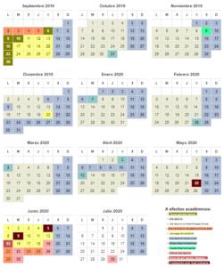 Calendario CAM